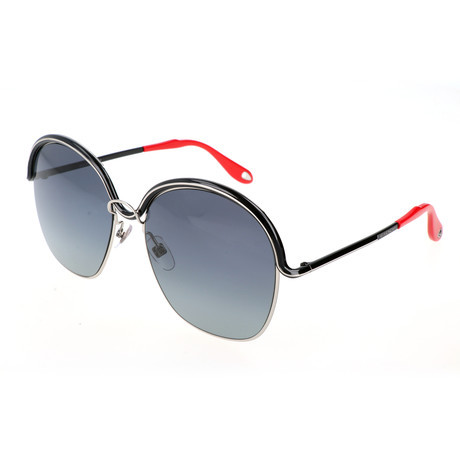 Givenchy // Women's 7030 Sunglasses // Palladium Black + Gray