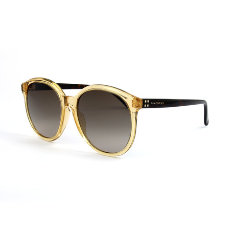 Women's 7107 Sunglasses // Yellow + Brown