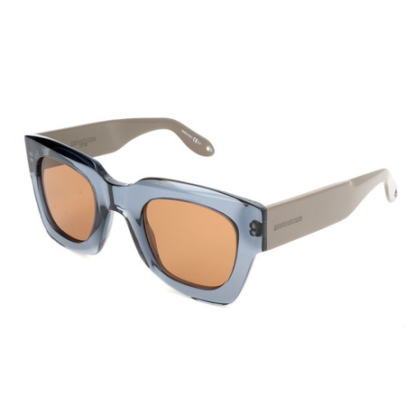 Men's 7061 Sunglasses // Blue + Brown