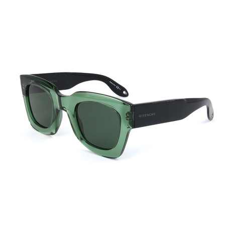 Givenchy // Men's 7061 Sunglasses // Green
