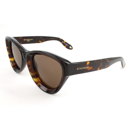 Women's 7073 Sunglasses // Dark Havana + Brown