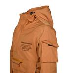 Outdoor Ultra Hooded Windbreaker // Camel (M)