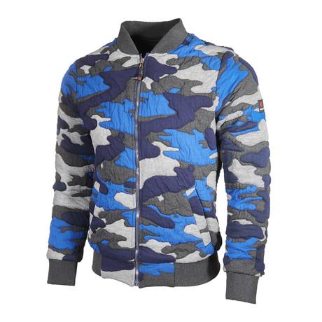 Camo Jacket // Blue (S)