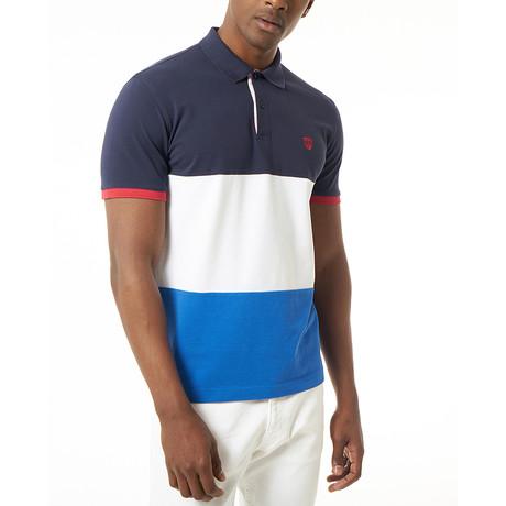 Venceslio Short-Sleeve Polo // Navy (Small)