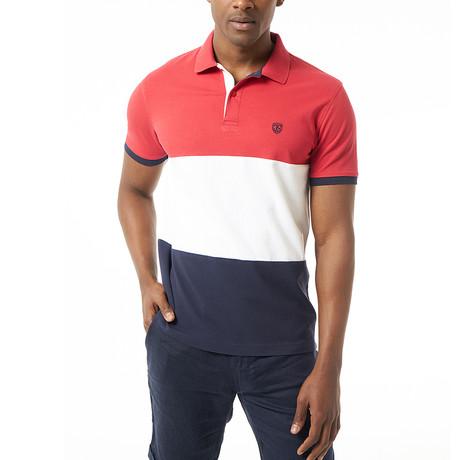 Venceslio Short-Sleeve Polo // Red (Small)