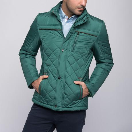 Harris Coat // Green (Small)