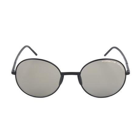 Unisex P8631 Sunglasses // Black + Gray