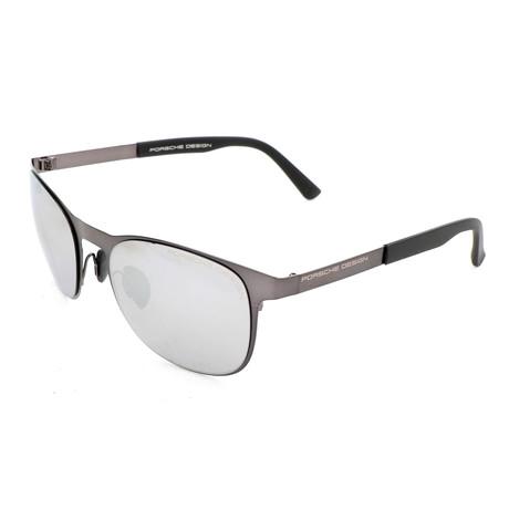 Men's P8578 Sunglasses // Gunmetal Mercury + Silver Mirror