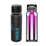 DUV-C Sterilizing Sports Water Bottle (Black)