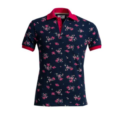 Pax Shirt // Navy Blue Floral (S)