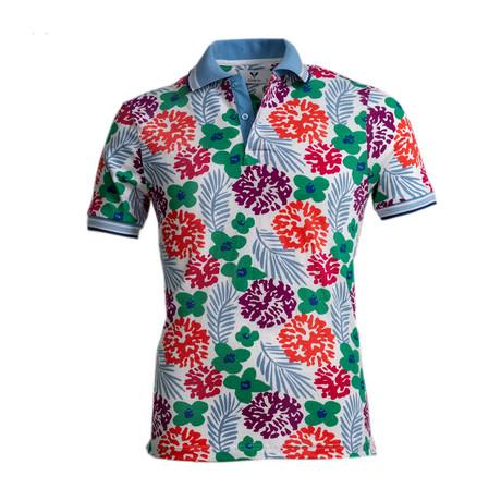 Karev Shirt // White + Floral (S)
