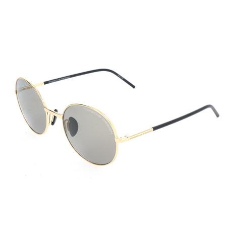 Unisex P8631 Sunglasses // Gold + Gray