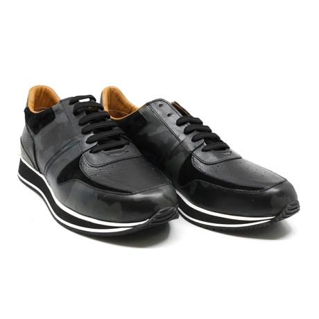 Camouflage Sneaker // Black (US: 7)