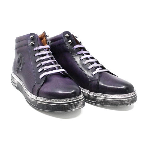 High Top Sneaker // Purple (US: 7)