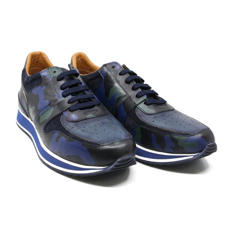 Camouflage Sneaker // Navy (US: 7)