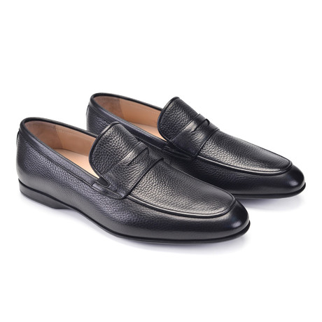 Deer Skin Casual Loafer // Black (US: 7)