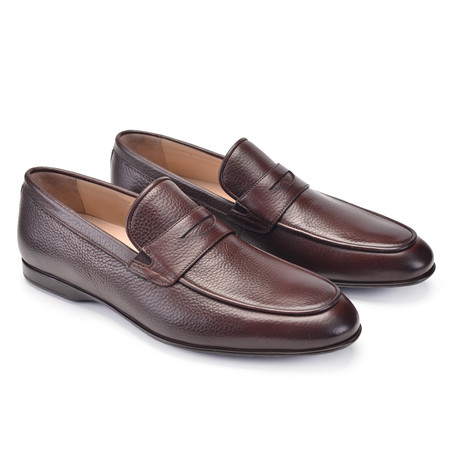 Deer Skin Casual Loafer // Brown (US: 7)