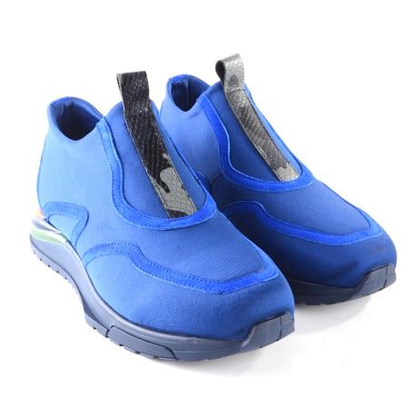 Stretch Fabric Fashion Sneaker // Blue (US: 7)