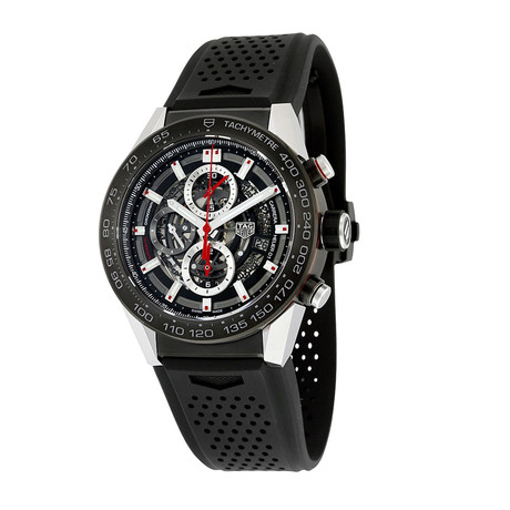 Tag Heuer Carrera Chronograph Automatic // CAR2A1Z.FT6044 // Pre-Owned