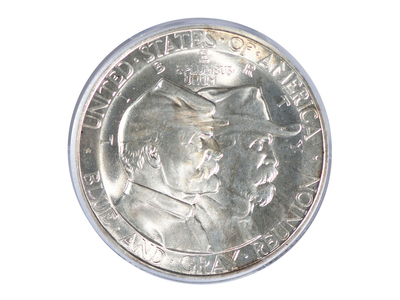 photo of 1936 Gettysburg Silver Commemorative Half Dollar PCGS Certified MS65 by Touch Of Modern