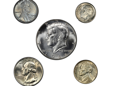 photo of United States Silver Presidential Coin Set by Touch Of Modern