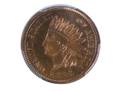 photo of 1885 Indian Head Cent PCGS Certified PR64RB by Touch Of Modern