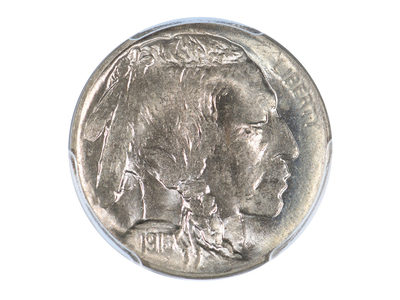 photo of 1913-D Buffalo Nickel, Type 1, PCGS & CAC Certified MS66 by Touch Of Modern
