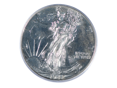 photo of 1942 Walking Liberty Half Dollar PCGS Certified PR65 by Touch Of Modern