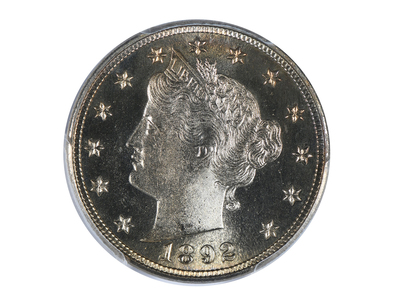 photo of 1892 Liberty Head Nickel PCGS & CAC Certified PR66CAM by Touch Of Modern