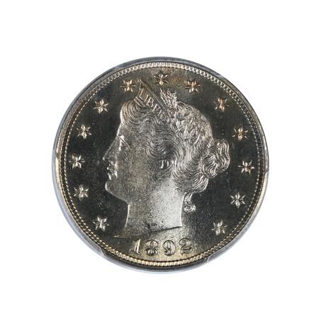 1892 Liberty Head Nickel PCGS & CAC Certified PR66CAM