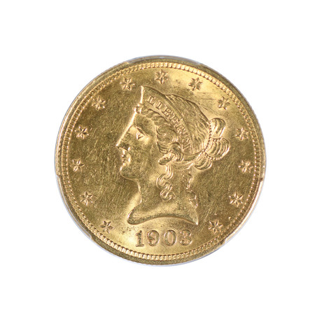 1903-O Liberty Head $10 Gold Piece PCGS Certified MS62