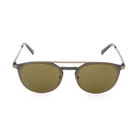 Men's SF186S Sunglasses // Matte Olive Green