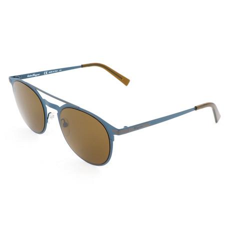 Men's SF186S Sunglasses // Matte Blue
