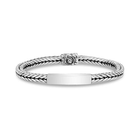 "Franco I.D. Bracelet // 5mm // Silver (X-Small // 7"")"