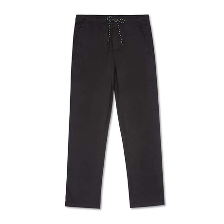 Solid Beach Pant // Black (XS)