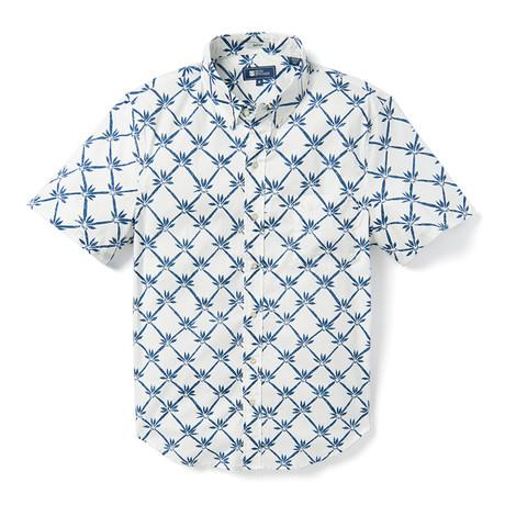 Rattan Vines Tailored Shirt // White (XS)