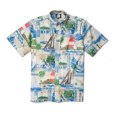 Ocean + Beach Shirt // Khaki (XS)