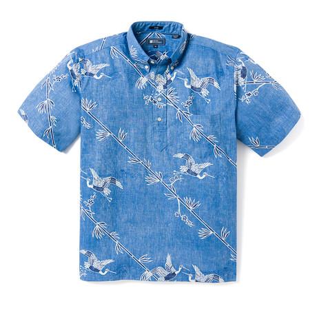 Crane's Flight Shirt // Light Blue (XS)
