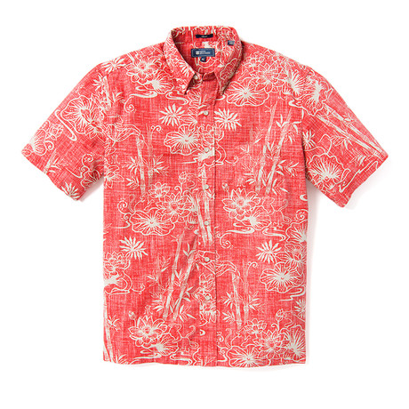 Year Of The Rat Shirt // Pompeian Red (XS)