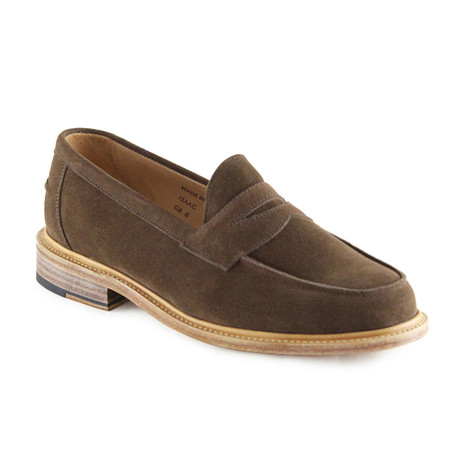 Issac Suede Penny Loafer // Snuff (US: 7)