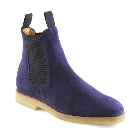 Clint Suede Chelsea Boot // Navy (US: 7)