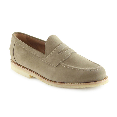 Louis Suede Penny Loafer // Dirty Buck (US: 7)
