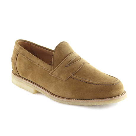 Louis Suede Penny Loafer // Indiana (US: 7)