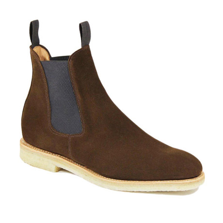 Clint Suede Chelsea Boot // Snuff (US: 7)