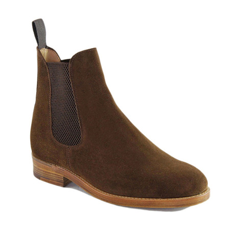 Frank Suede Chelsea Boot // Snuff (US: 7)