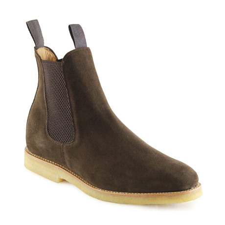 Clint Suede Chelsea Boot // Chocolate (US: 7)