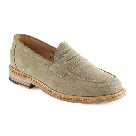 Issac Suede Penny Loafer // Dirty Buck (US: 7)
