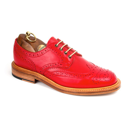 Bruno Brogue Gibson // Red (US: 7)