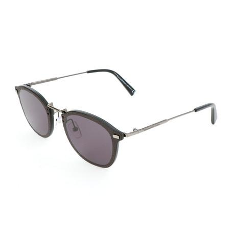 Men's EZ0097 Sunglasses // Shiny Anthracite + Smoke