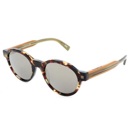 Men's EZ0100 Sunglasses // Colored Havana + Smoke Mirror